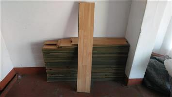 SECONDHAND LAMINATED WOODEN FLOORING FOR SALE - MAKE ME AN OFFER!