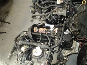 Toyota yaris 3 cyl engine (1kr) FOR SALE  R12500.00