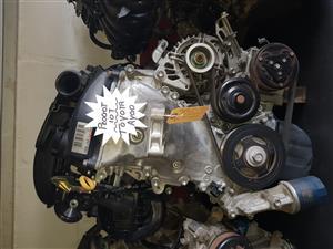 Peogeot 107 1KR engine for sale.