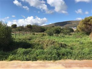 Large centrally situated Plot in Hawston, Hermanus