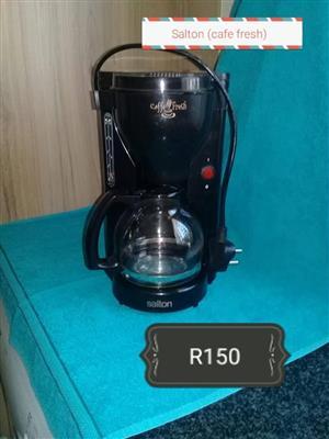 Salton coffee machine