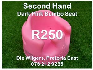 Second Hand Dark Pink Bumbo Seat