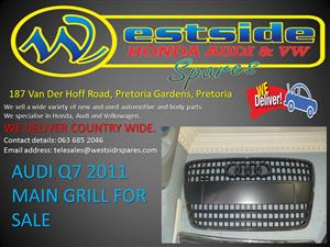 AUDI Q7 2011 MAIN GRILL FOR SALE