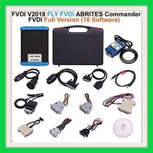 Key/ Ecu  Programmer, Mileage corrector, and diagnostic tool: Newest FVDI V2018 Original FLY FVDI ABRITES Commander Full Version (18 Software) No Time Limited