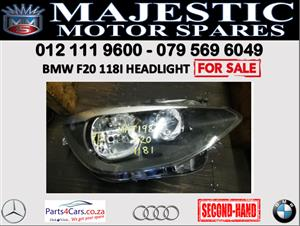 Bmw F20 118i headlight for sale