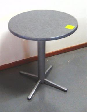 Canteen table with heavy duty t base rust resistant leg and werzalit top