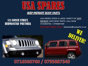 JEEP PATRIOT USED REPLACEMENT BODY PANELS