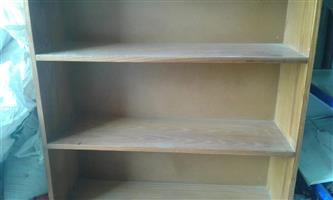 Light wooden bookshelf for sale