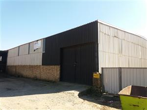 Workshops and warehouse to let Boksburg Anderbolt