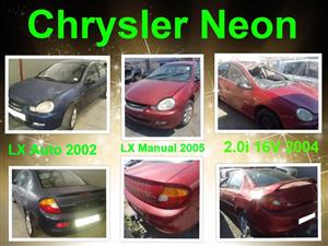 Chrysler neon spares for sale