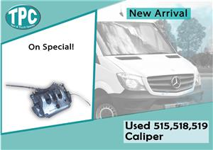 Mercedes Benz Sprinter 515. 518 & 519 Used Caliper For Sale at TPC.