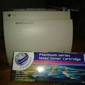 1100 HP LaserJet printer + new Toner cartridge
