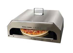Single and Double Pizza Domes as well as Single Pizza Oven for woodfire, charcoal or Gas braai.