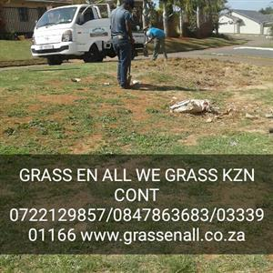 GRASS En ALL WE GRASS K.Z.N INSTANT TURF CONT0722129857/0333901166