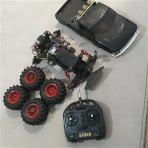 Remote control car. Black Foot (Yakahima).  No battery pack.