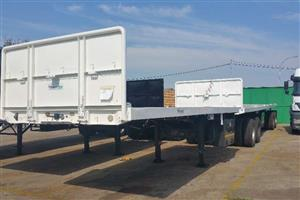2007 Flat Deck Superlink Trailer-Price- R79 000