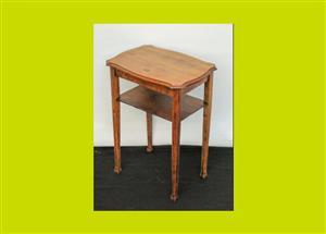 Victorian Oak Side Table - SKU 679
