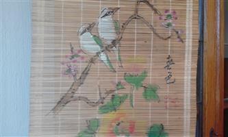 2 Bamboo Wall Hangings