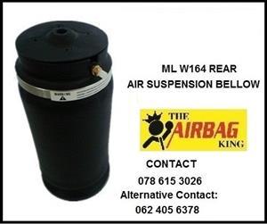 ml w164 air springs / air bellow / air suspension - Rear Mercedes ML w164