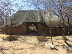 Venue for HIRE - Dinokeng Nature Reserve