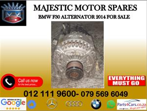 Bmw F30 alternator for sale