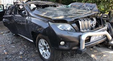 Toyota Prado 2012 #1GR Stripping for spares