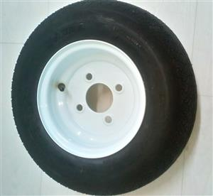 "8""Pneumatic Wheels :  480-8 tyre"