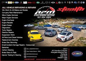 Car Service & Repairs (Ryan Pereira Motors)