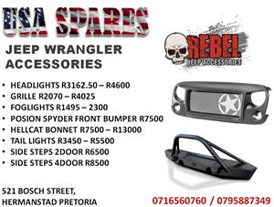 JEEP WRANGLER ACCESSORIES JK FOR SALE