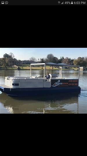24 foot Barge for sale