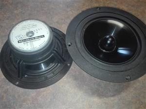 Mordaunt short msb-165 speaker units, Bronkhorstspruit
