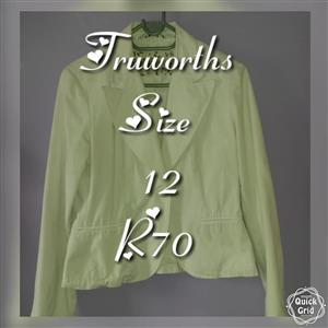 Truworths white jacket for sale