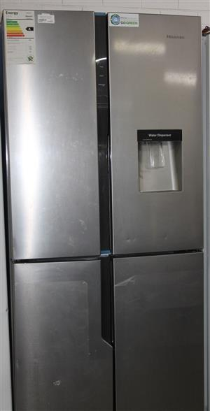 S035385A Hisense 4 door fridge #Rosettenvillepawnshop