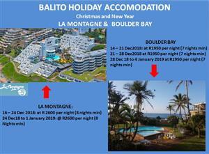 Ballito Holiday Accommodation LA MONTAGNE & BOULDER BAY