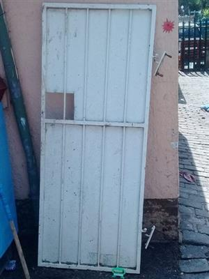 White steel door for sale