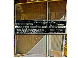 Solar hot water panels X2