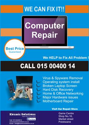 Repair you IT products