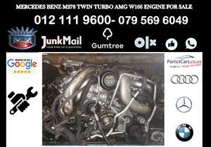 Mercedes benz M278 amg engine for sale