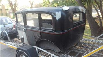 1932 Ford 4 door body only