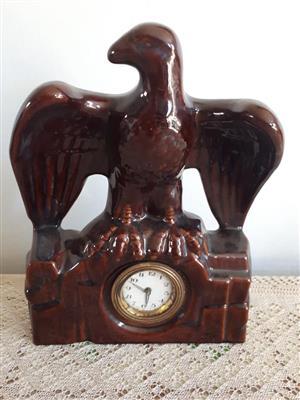 Vintage / Antique German Ceramic Clock