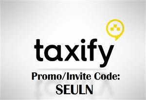 Ride for Free with Taxify - up to R150 - Promo Code : SEULN