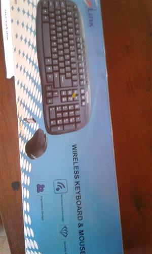 Keyboard en mouse