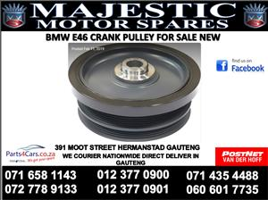 Bmw e46 1 hole crank pulley for sale