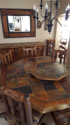 Lodge Style Dining Room Set
