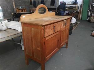 Old wooden side cabinet for sale
