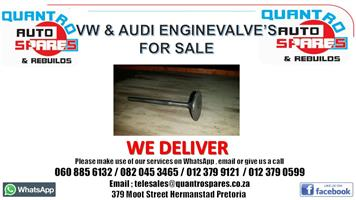 Vw and Audi Engine Valve for sale