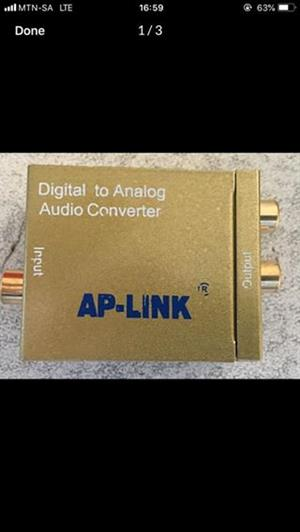 Digital to analog audio converter for sale