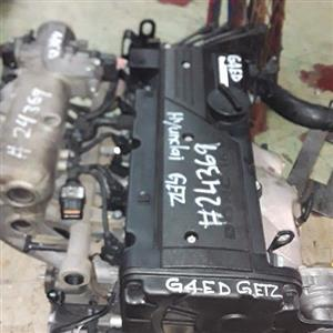 Hyundai gerts 1.6 G4ED engine for sale