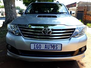 2014 Toyota Fortuner 3.0D 4D Heritage Edition automatic
