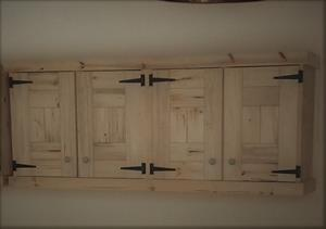 Kitchen Cupboard Wall unit Farmhouse series 2000 - Raw